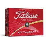 6 Dozijn Titleist DT TruSoft Wit/Geel_