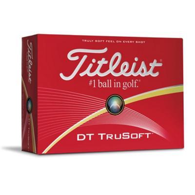 6 Dozijn Titleist DT TruSoft Wit/Geel