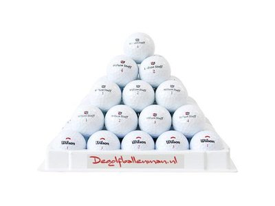 Wilson golfballen mix - 100 stuks