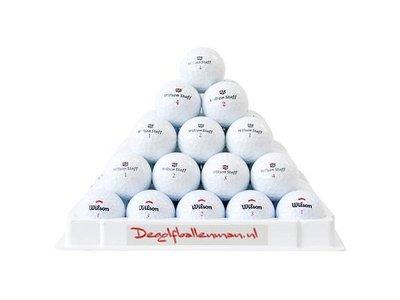 Wilson golfballen mix - 75 stuks