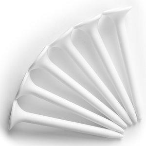 20 plastic tees wit